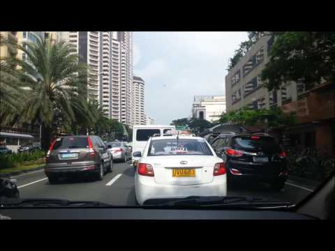 Makati, downtown Manila