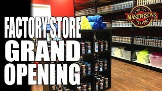 Masterson's Car Care Factory Store Grand Opening Invitation - $1,000 IN PRIZES!