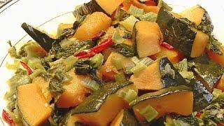(現代心素派)  - 香積料理 - 南瓜雪裡紅&酸菜蒟蒻湯 - 相招來吃素 - 仁美幼稚園