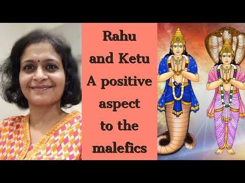 Rahu and Ketu  - A positive aspect to the malefics