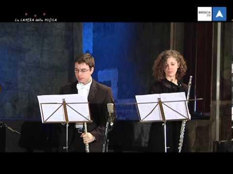 La Camera della Musica 1° parte  Viviani-Benedetti flauti, Naccari piano, F. Doppler  Mozart K 313