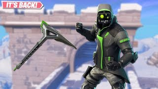 ARCHETYPE SKIN RETURNS! NEW LEAKED SKINS ON FORTNITE!! FORTNITE BATTLE ROYALE!!!