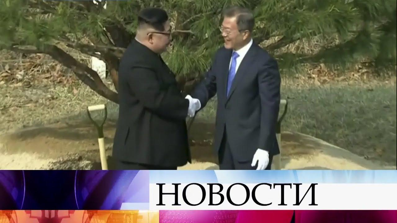 Историческое событие - первые за десятилетие переговоры лидеров двух Корей.
