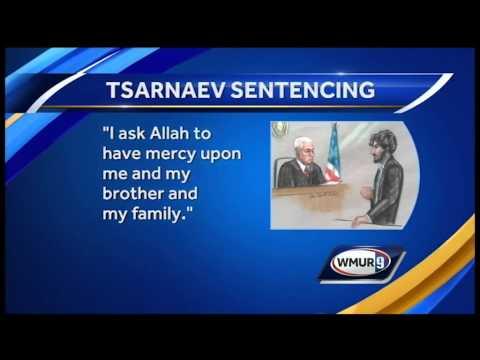 Dzhokhar Tsarnaev apologizes, gets death sentence