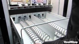 Вендинг. Торговый автомат по продаже колготок(Торговый автомат производства компании VendShop SM 6367 предназначен для продажи колготок. Удобная большая загру..., 2015-02-09T07:39:08.000Z)