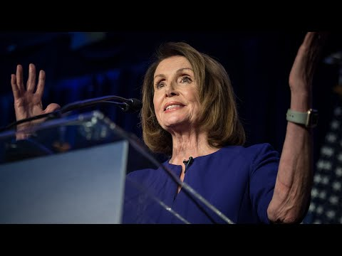 Watch Nancy Pelosi\'s full speech after Democrats regained control of the House