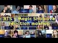 BTS Magic Shop live|reaction mashup