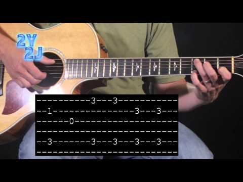 Send Me On My Way Intro - Rusted Root - Guitar Lesson