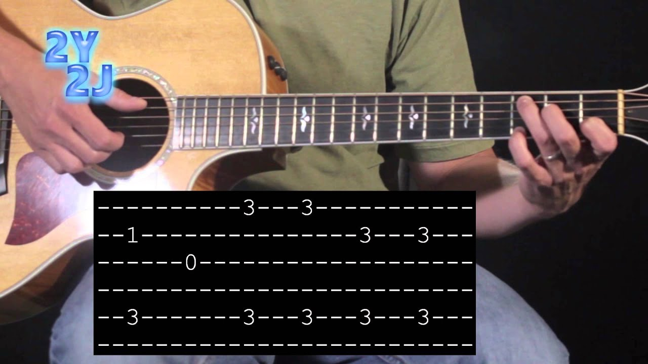 Send Me On My Way Intro Rusted Root Guitar Lesson Youtube