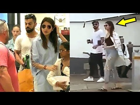 Virat Kholi and Anushka Sharma's Shopping VIDEO Of Cape Town