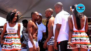 Game Boy and Moses Paulus make weight ahead of Saturday's title fight