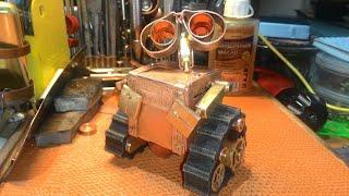 Steampunk.Mini робот WALL'e (часть 3) своими руками.