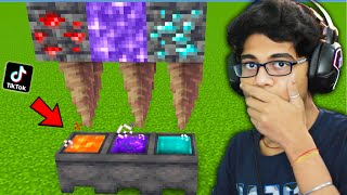NEW!! IMPOSSIBLE MINECRAFT TIKTOK HACKS THAT ACTUALLY WORKS!!