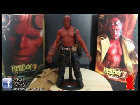 HOT TOYS HELLBOY II THE GOLDEN ARMY  REF. MMS083 VIDEO REVIEW EN ESPAÑOL