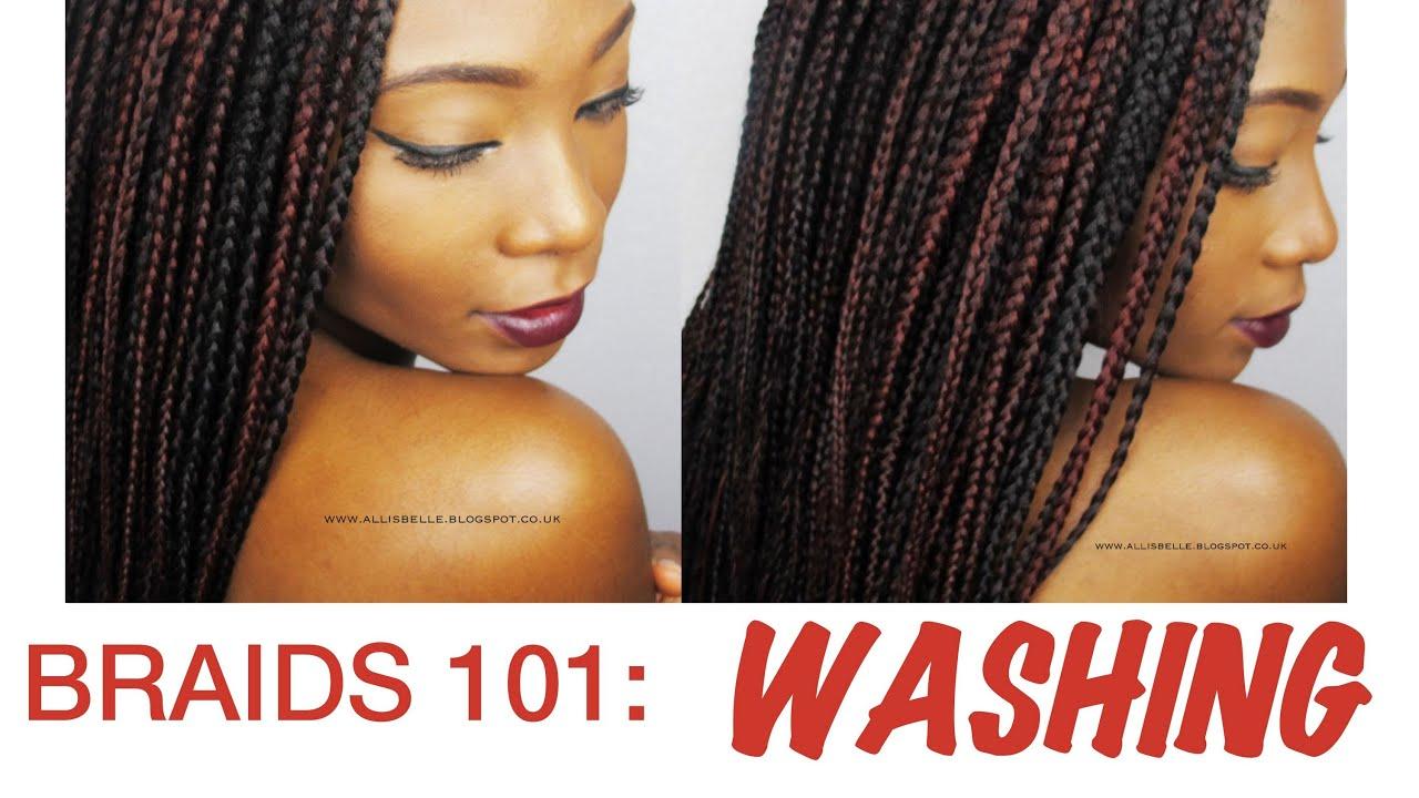 BRAIDS 101: How to wash box braids