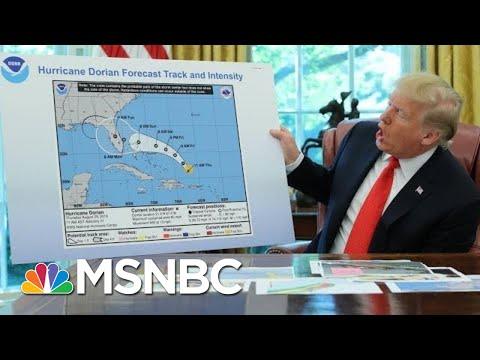 Sharpie-Gate? President Trump's Alternate Hurricane Map  - The Day That Was | MSNBC