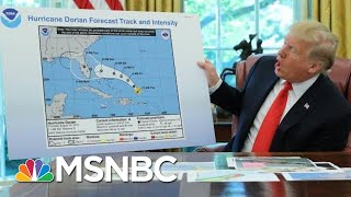 Sharpie-Gate? President Trump's Alternate Hurricane Map  - The Day That Was | MSNBC