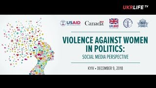 Violence against women in politics, - Gabrielle Bardall