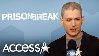 Wentworth Miller On The Responsibility That Comes With Bringing 'Prison Break' Back