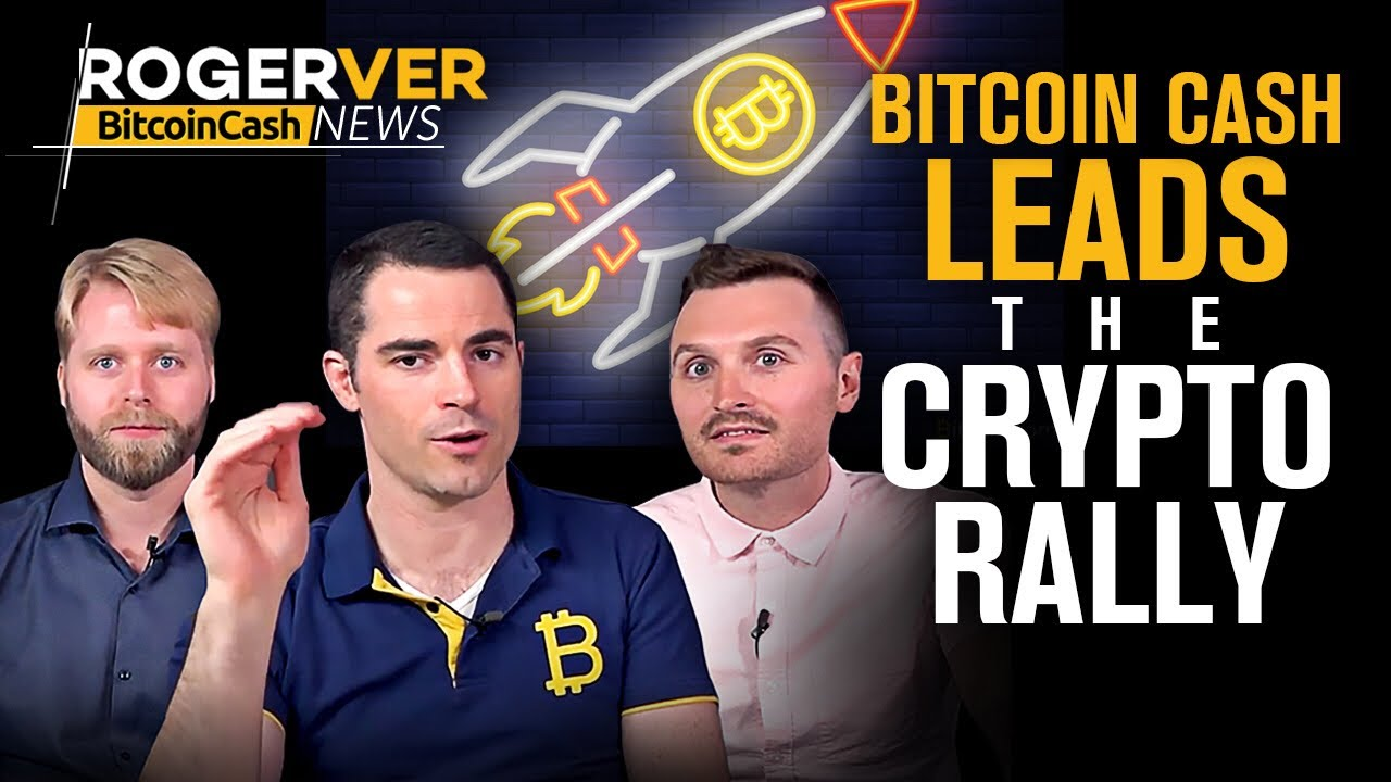 Bitcoin Cash Leads Crypto Rally, First Token on an Exchange, Giveaway Winners Announced and more!