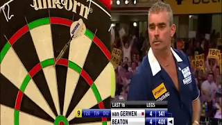 Some of the greatest 9 dart finishes