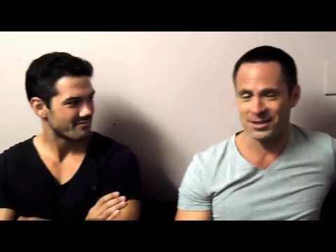 Ryan Paevey and William deVry