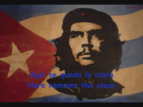 Hasta Siempre Che Guevara Song Subtitles English Spanish Youtube