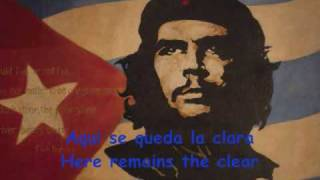Hasta siempre Che Guevara Song + subtitles (English Spanish) thumbnail