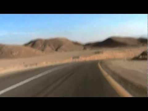 2008 Israel Ride - Descent to Kibbutz Ketura