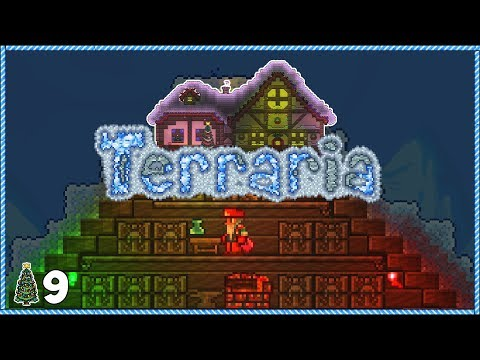 Terraria 1.3.5 Christmas Let's Play - Day 9 SKULL RAGE