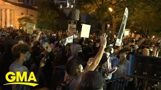 People fill the streets of New York City to protest for justice | GMA