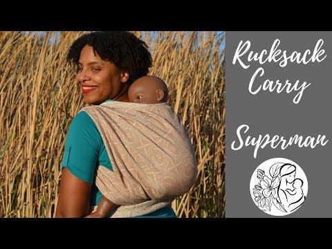 Rucksack Back Carry, Superman Toss