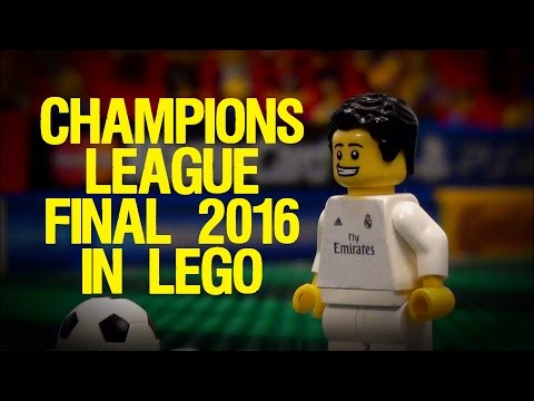 Champions League Final 2016 in LEGO (Real Madrid v Atletico Madrid)