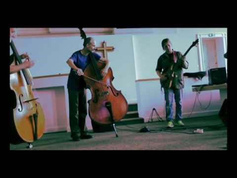 Two Double-Basses & Two Electric Basses live in free improvisation
