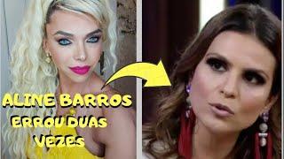 Cantora gospel Aline Barros nem olhou na minha cara