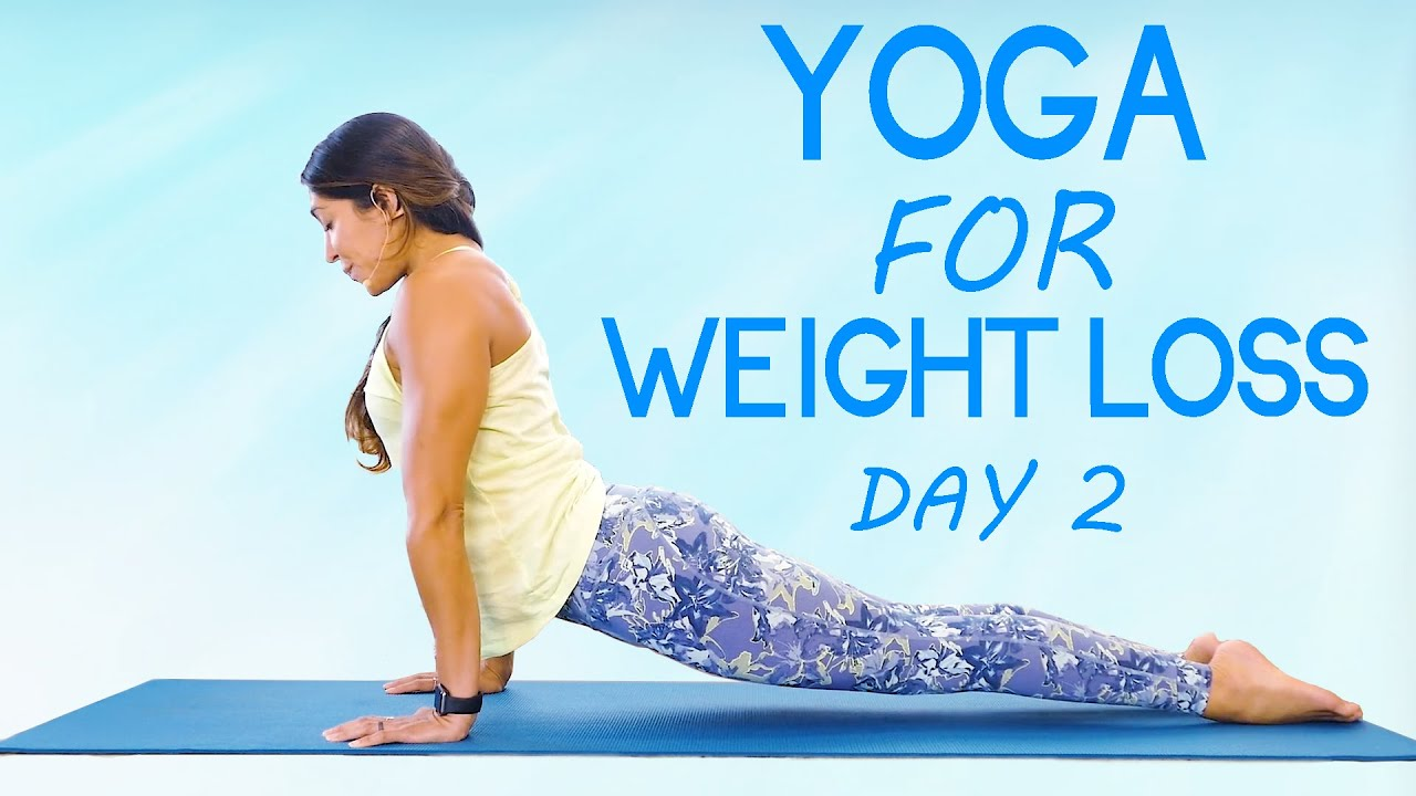 Yoga for Weight Loss, Beginners | Day 2 | Get your Body Back in 14 Days