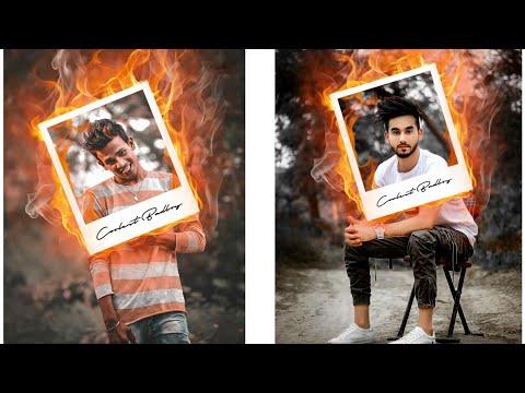 Fire Frame Photo Editing Tutorial | Lightroom cc and Picsart thumbnail