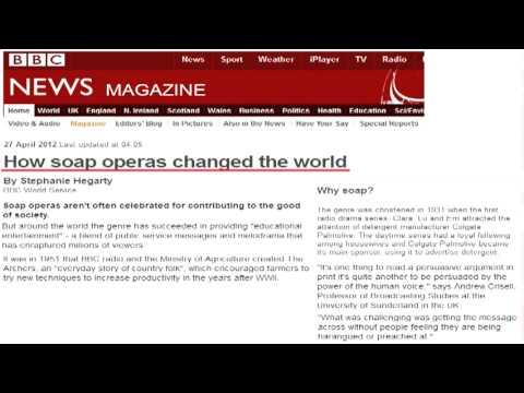How Soap Operas Changed the World - Alan Watt