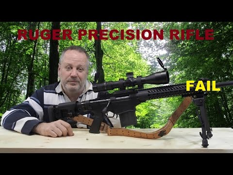 Ruger Precision Rifle Fail. This was not a hang fire.