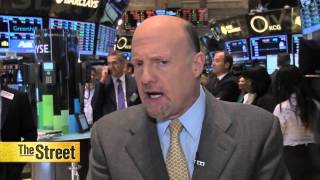 Jim Cramer on Yahoo! and Bank of America Earnings
