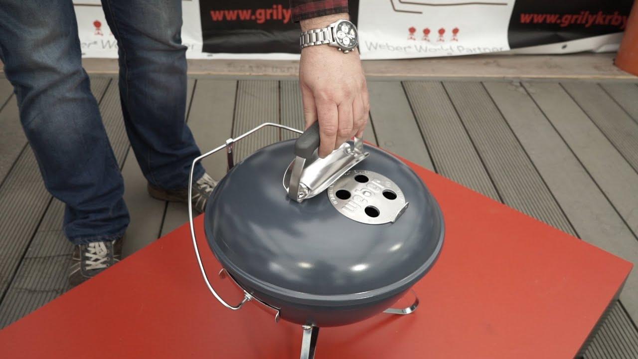 gril weber smokey joe premium 37 cm ed youtube. Black Bedroom Furniture Sets. Home Design Ideas