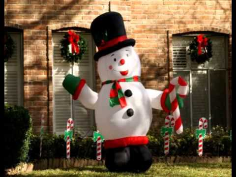 christmas decoration outdoor snowman - Outdoor Snowman Christmas Decorations