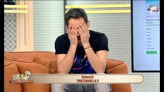"""Ai greșit emisiunea, fata mea! Răzvan Simion, către Annie: """"Ce este cu melodia asta?"""""""