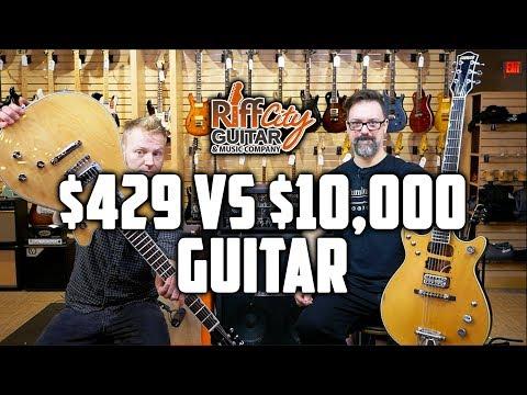 $429 VS $10,000 Gretsch Guitar - Riff City Guitar