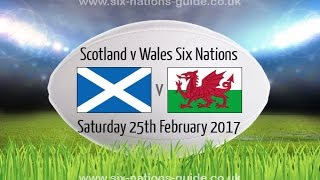 Scotland vs Wales - Rugby 6 Nations 2017