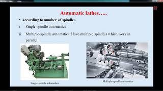 Metal cutting and machine tools 27-07-2018