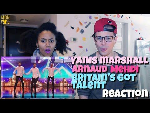 Yanis Marshall, Arnaud and Mehdi on Britain's Got Talent Reaction