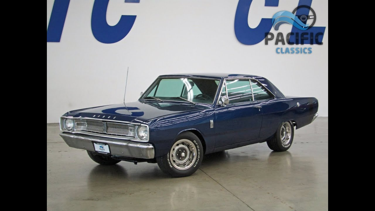 1967 Dodge Dart Gt Youtube