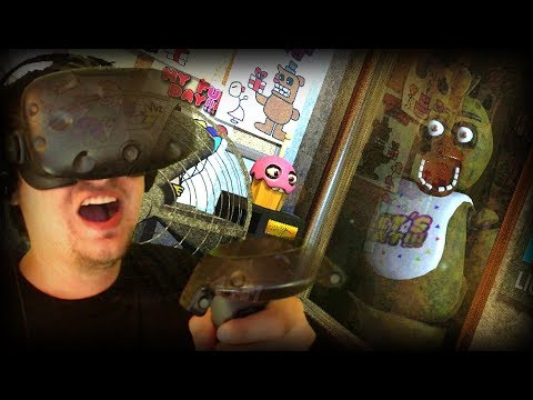 A TERRIFYINGLY SCARY NEW VR FIVE NIGHTS AT FREDDYS!!!   Night 1