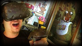 A TERRIFYINGLY SCARY NEW VR FIVE NIGHTS AT FREDDYS!!! | Night 1